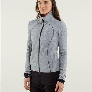 Lululemon Nice Asana Jacket Herringbone/Black